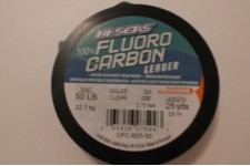 Fluorocarbon Leader (50 pound - 25 yard spool)