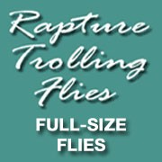 Rapture Trolling Flies (Full Size)